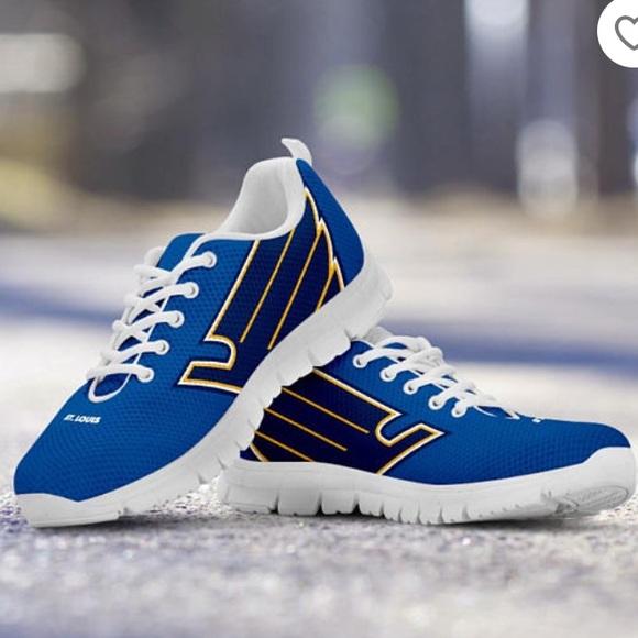 St. Louis Blues NHL Athletic Shoes W11M8.5